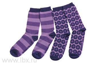 Носки Melton (Мэлтон) 2в1 фиолетовые- увеличить фото