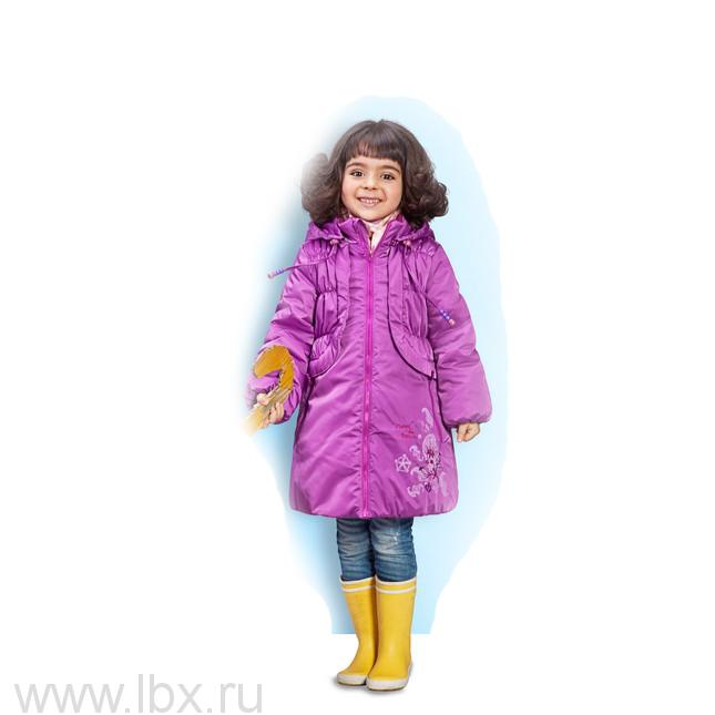 Пальто `Облако` для девочки, Олдос