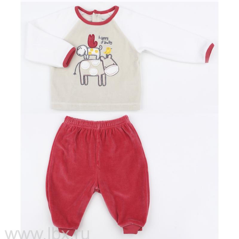 Комплект (кофточка штанишки) для малышки, Teeny Tiny- увеличить фото