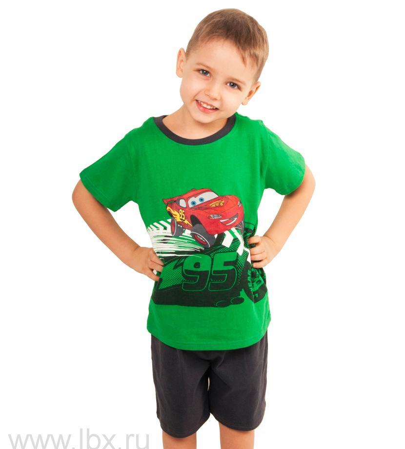 Пижама для мальчика Тачки, `Торговый Дом Эльдорадо`