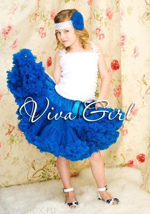 Нарядная юбка, Viva Girl- увеличить фото