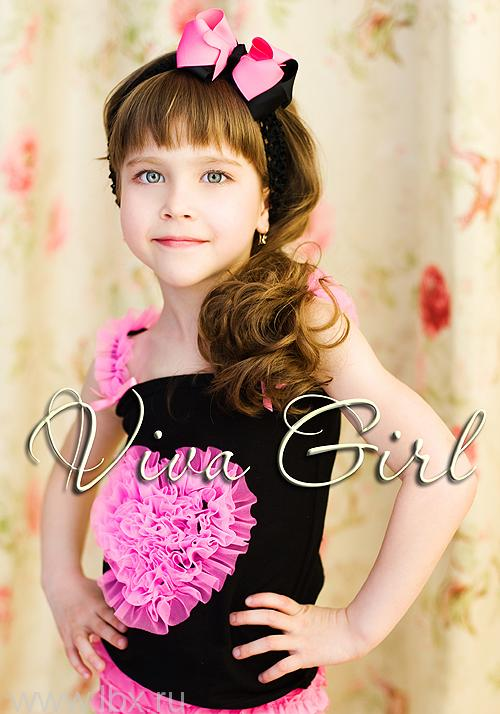 Нарядный топ, Viva Girl (Вива Герл)- увеличить фото