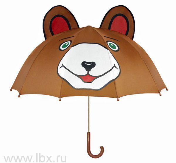 Зонт-трость детский Мишка, Kidorable (Кидорабл)
