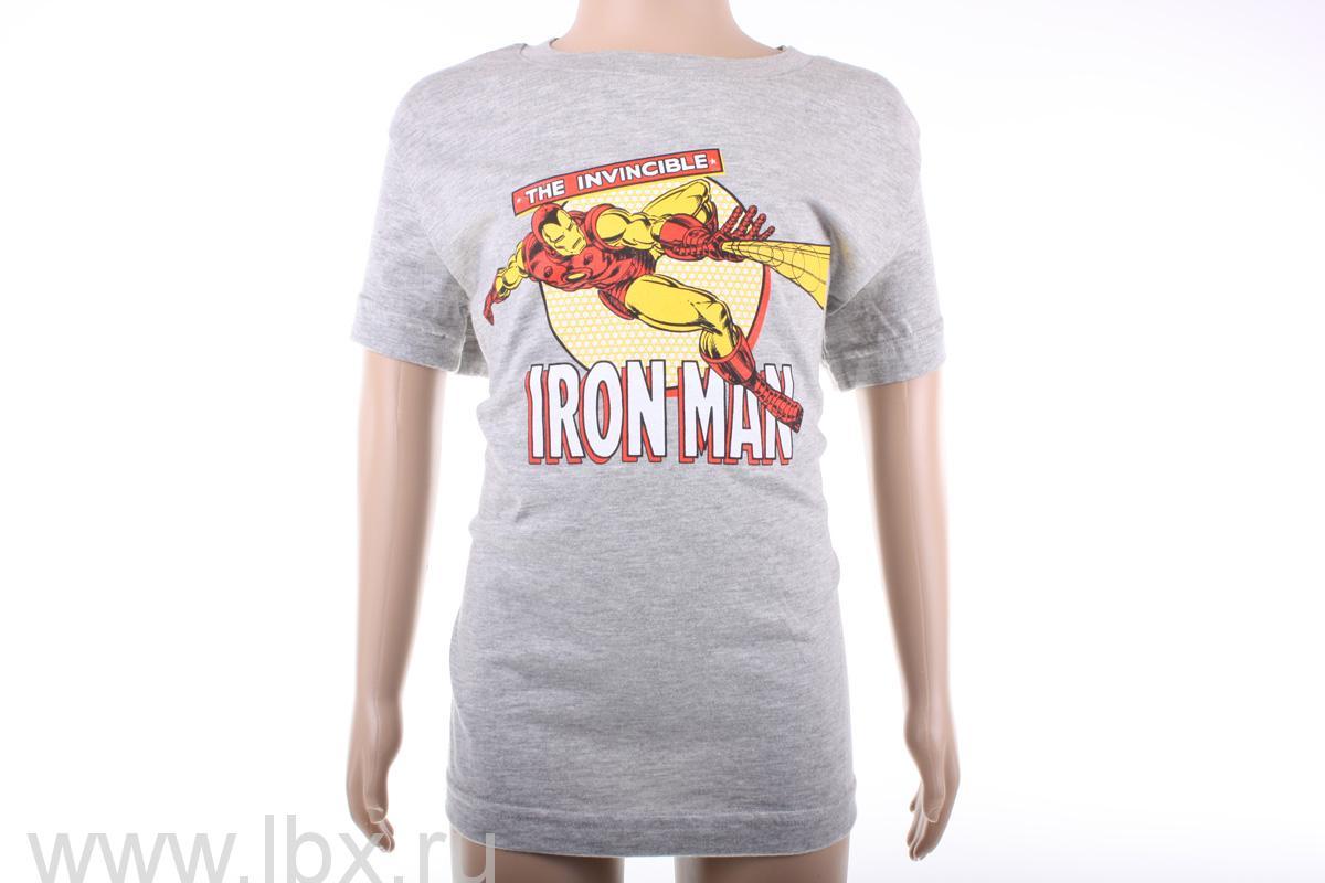 Футболка с коротким рукавом для мальчиков Iron Man, Marvel (Марвел)- увеличить фото