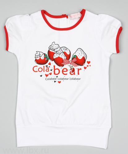 Футболка для девочек, Colabear (Колабир)- увеличить фото