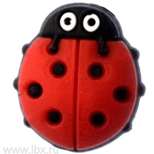 Джибитс LadyBug Red Crocs (Крокс)
