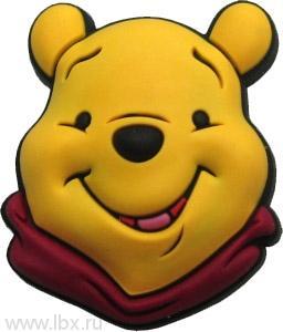 Джибитс Winnie the Pooh Face Crocs (Крокс)- увеличить фото