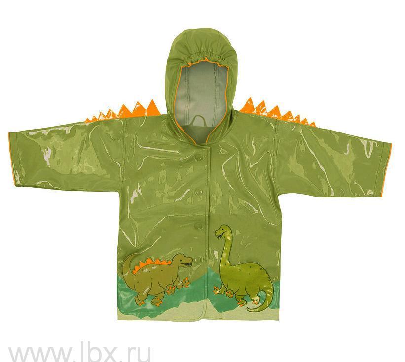 Плащ детский `Динозавр` с подкладкой, Kidorable (Кидорабл)- увеличить фото