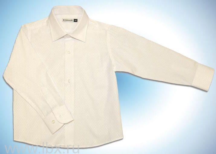Рубашка белая, Елена и Ко- увеличить фото