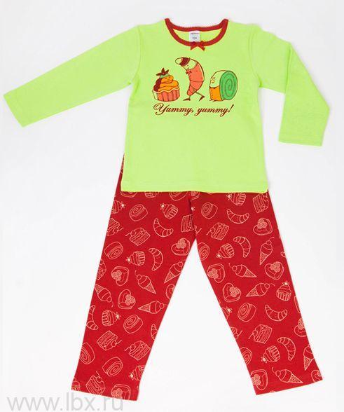 Пижама для девочки `Кексы`, Модамини