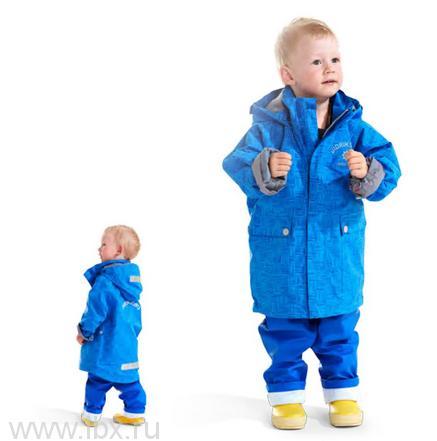 Куртка для детей Eiger Kids Printed, Didriksons 1913 (Дидриксонс 1913), цвет синий