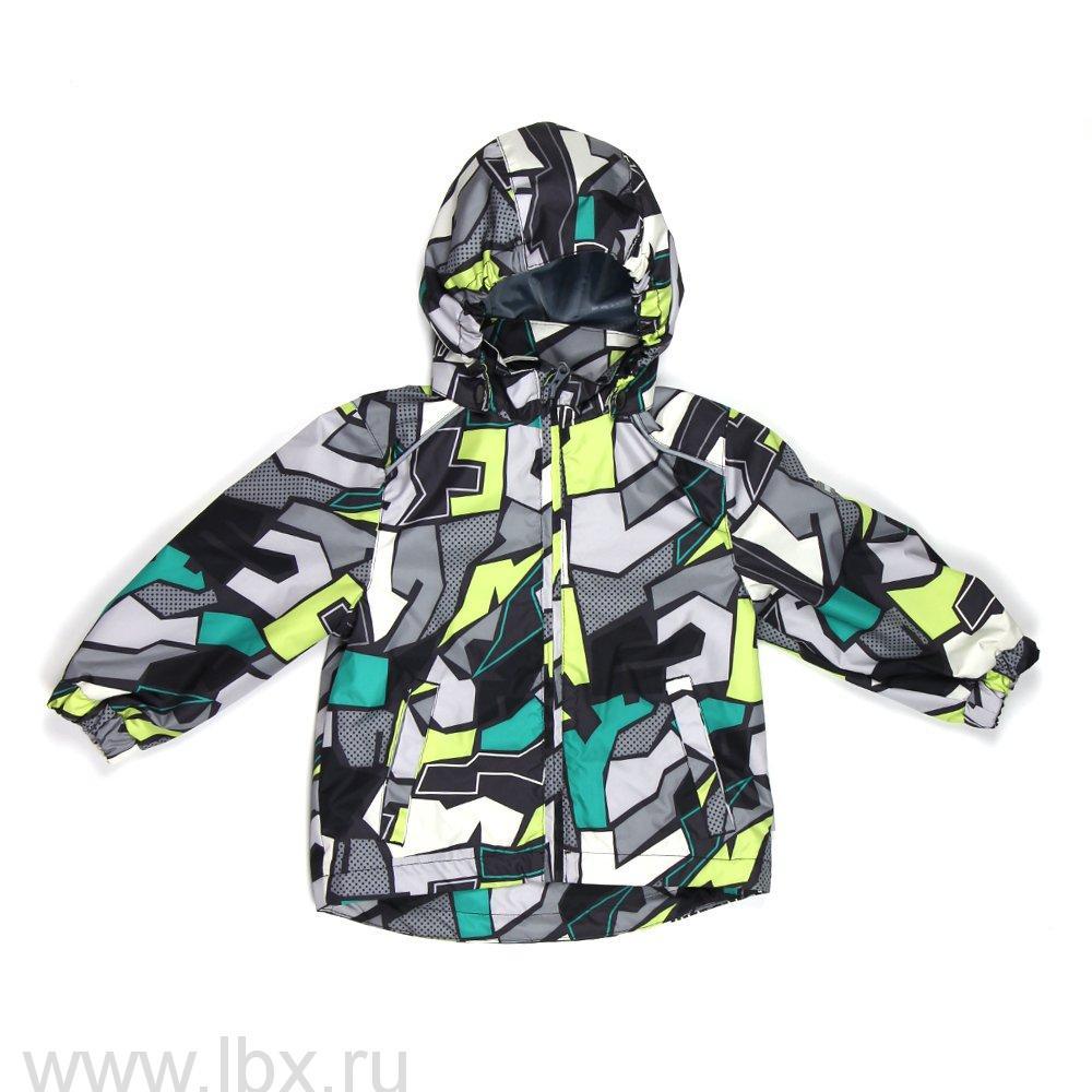 Куртка для мальчика JODY серый принт, Huppa (Хуппа)