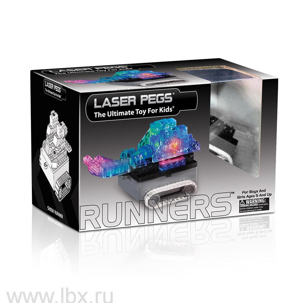 Модель с гусеницами Laser Pegs (Лазер Пегс)
