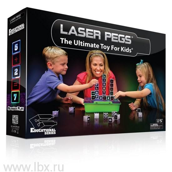 Латинский алфавитLaser Pegs (Лазер Пегс)