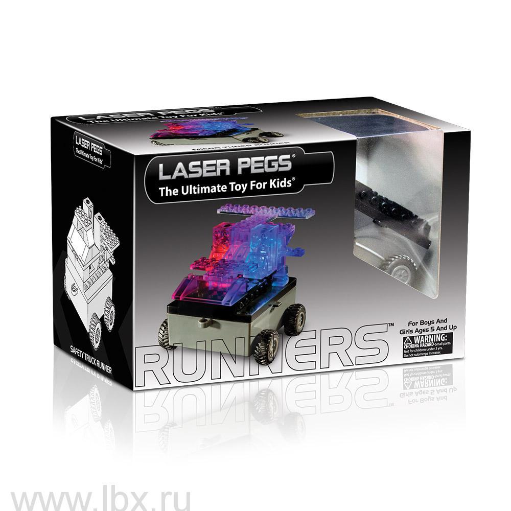 Модель с колесами Laser Pegs (Лазер Пегс)