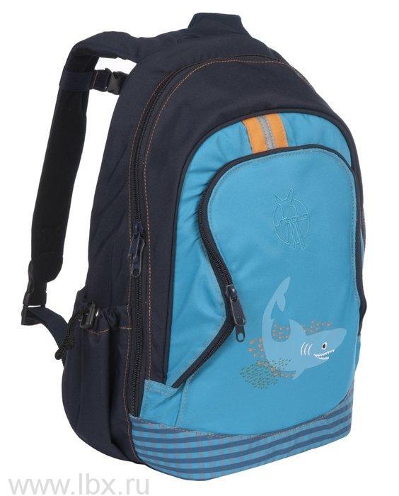 Рюкзак большой акула синий Lassig (Лессиг)