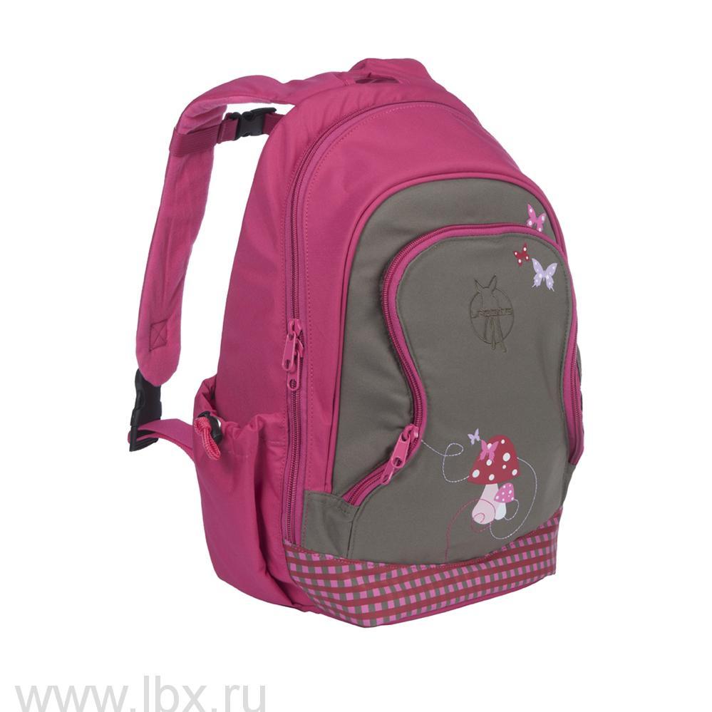Рюкзак большой грибок розовый Lassig (Лессиг)