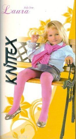 Колготы Knittex (Книтекс) Laura rozowy