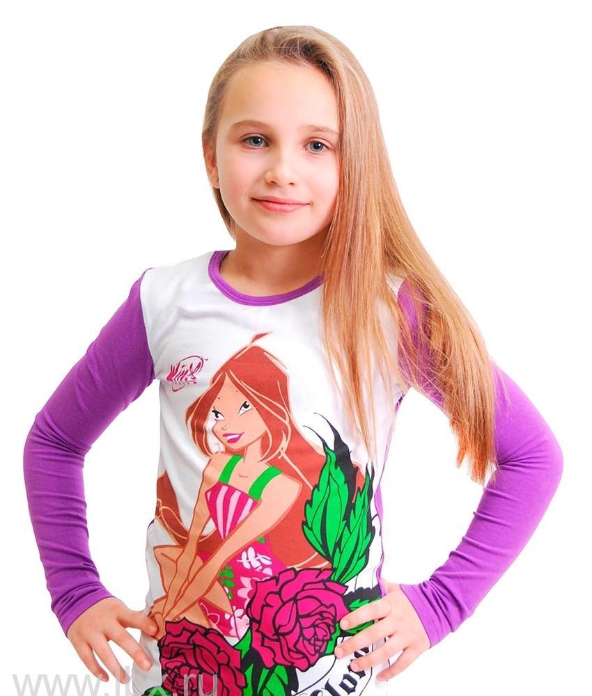 Джемпер для девочки Winx Club, ТД Эльдорадо- увеличить фото