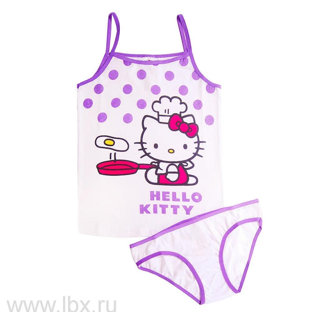 Компл для девочек (трусы и майка) Hello Kitty, ТД Эльдорадо