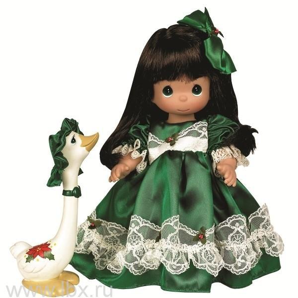Кукла `Рождество` брюнетка 30см, Precious Moments(Драгоценные Моменты)