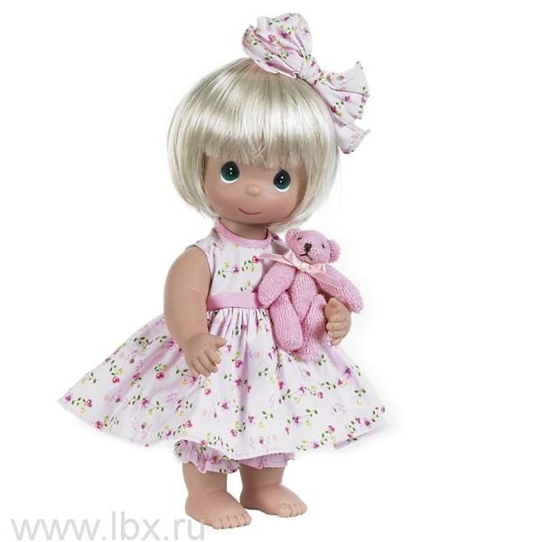 Кукла `Босоногая` блондинка 30см, Precious Moments(Драгоценные Моменты)