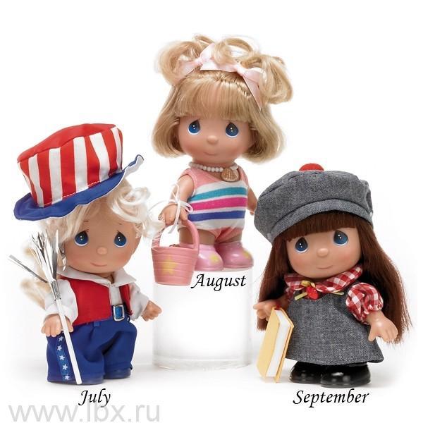 Кукла `Июль` (July) 13см, Precious Moments(Драгоценные Моменты)