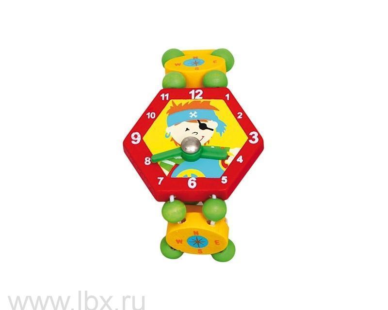 Часы `Пират`, красные, Bino (Бино)