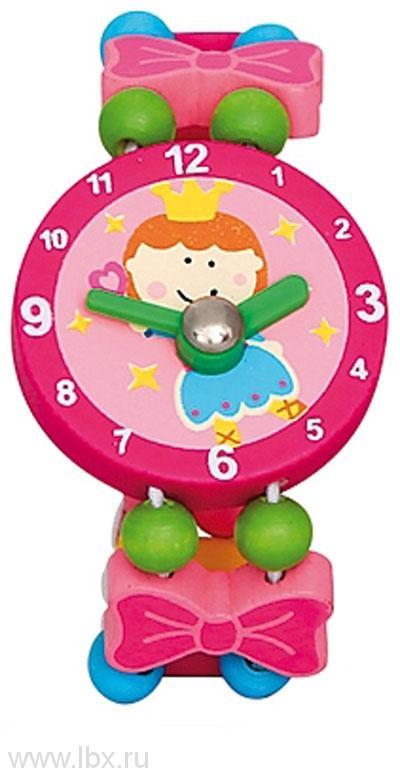 Часы `Фея`, розовые, Bino (Бино)
