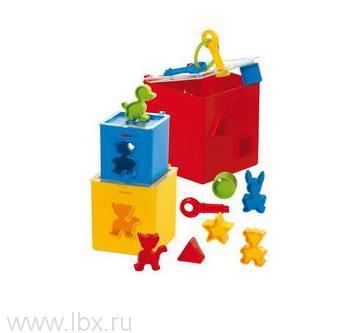Квадратная коробка-паззл - 12 частей, Gowi (Джови)