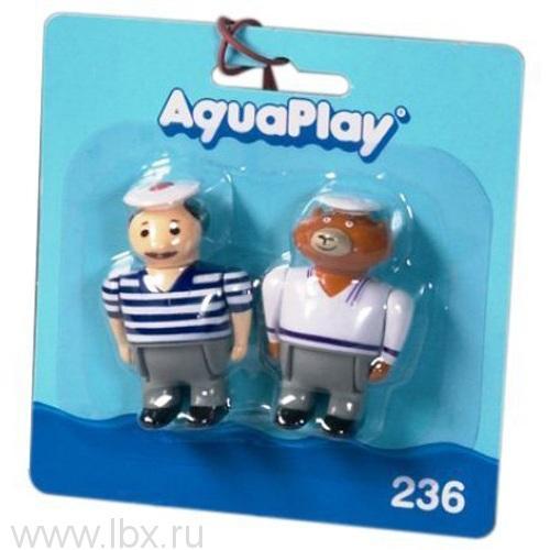 2 куклы (Человечек мишка) Aquaplay (Акваплей)