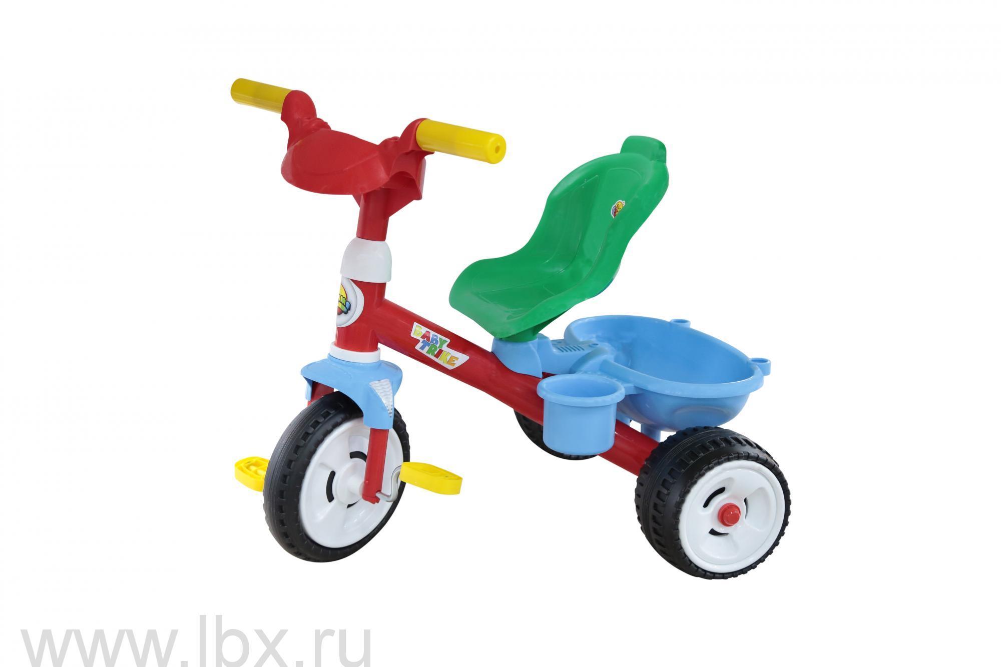 Велосипед 3-х колёсный `Беби Трайк` Полесье