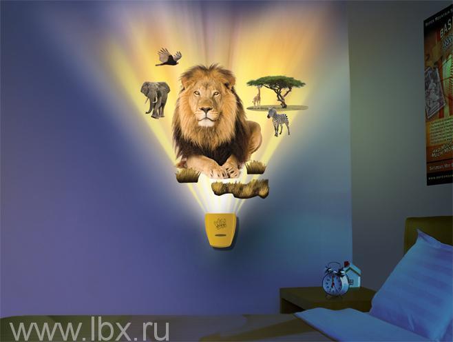 Интерактивный настенный проектор `Африканское сафари` Uncle Milton (Анкл Милтон)