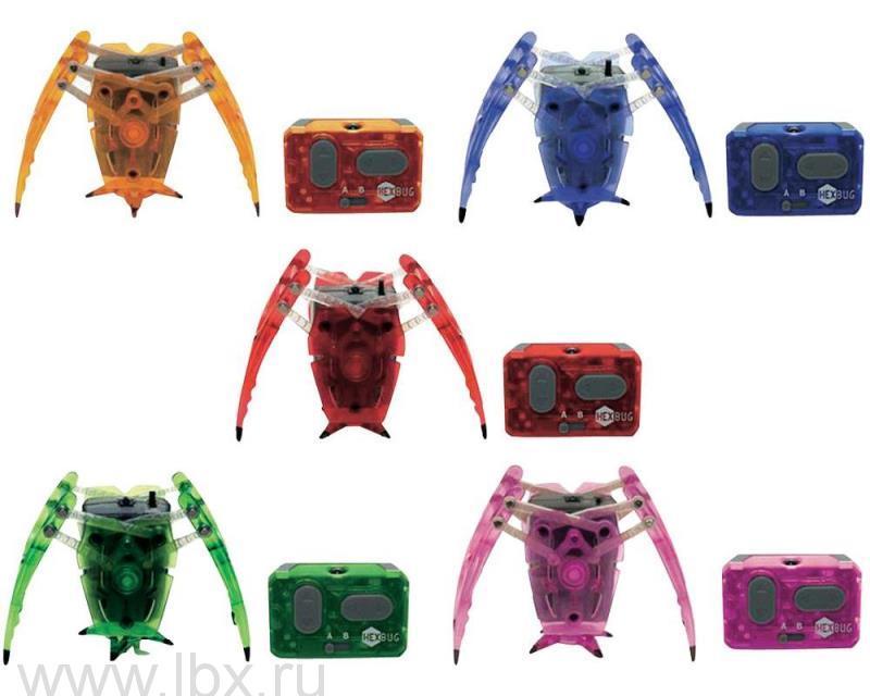 Микро-робот Паук на инфракрасном управлении, Hexbug (Хексбаг)