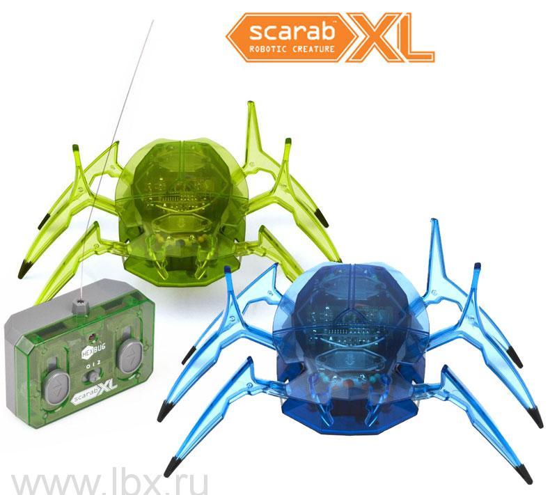 Робот `Скарабей Макси` на дистанционном управлении, Hexbug (Хексбаг)