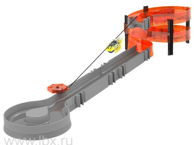 Игровой набор `Зип Лайн`с микро-роботом, Hexbug (Хексбаг)