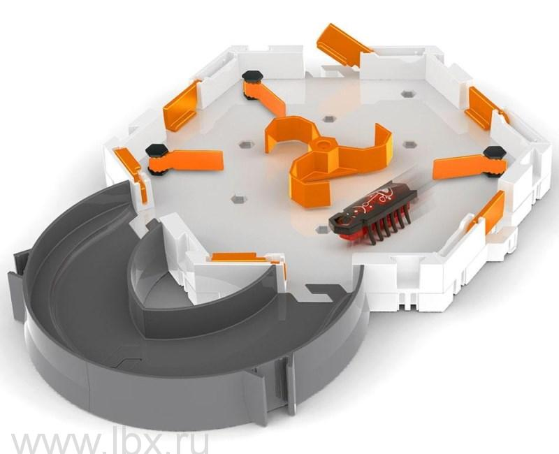 Игровой набор `Нано Стартер Констракт` с микро-роботом, Hexbug (Хексбаг)