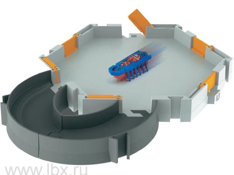 Стартовый игровой набор `Нанодром` с микро-роботом, Hexbug (Хексбаг)