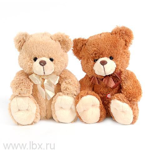 Медведь подарочный, поет песню `Мишка`, Plush Apple (Плюш Эппл)