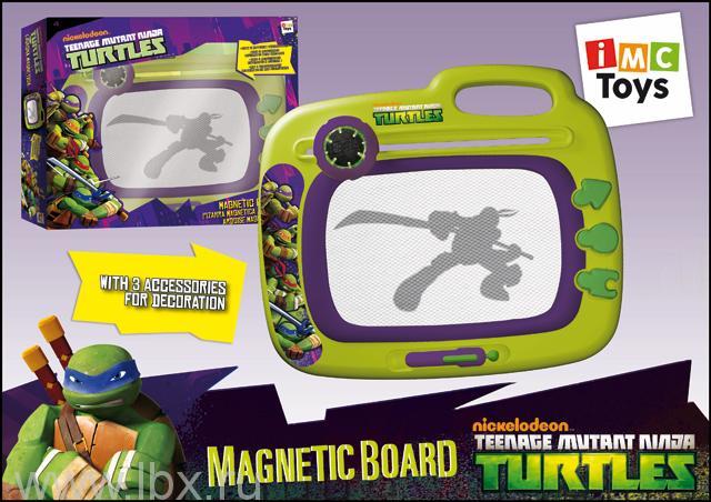 Доска магнитная Черепашки Ниндзя, IMC Toys