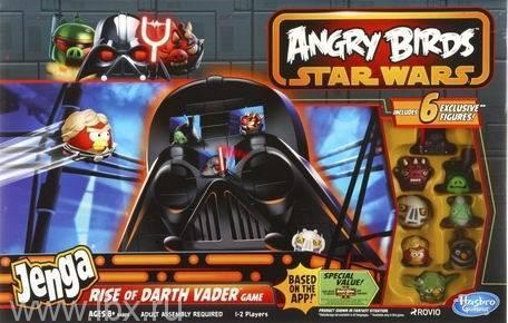 Игра Angry Birds Star Wars. Jenga: Восхождение Дарта Вейдера Hasbro (Хасбро) Games