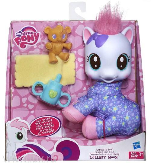 Мягкая малышка MLP Малышка Лалебай Мун Hasbro (Хасбро) My Little Pony