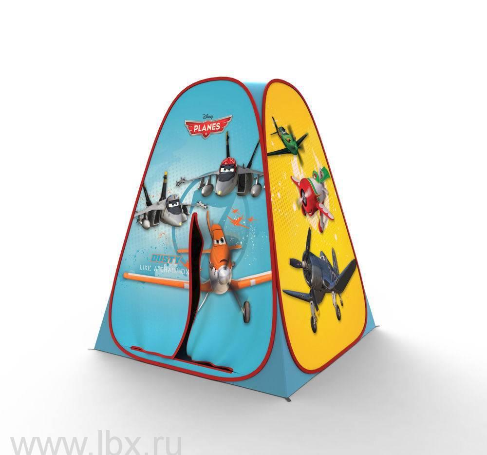 Игоровой домик-палатка сборная 3D Самолеты, 4 панели Играем Вместе