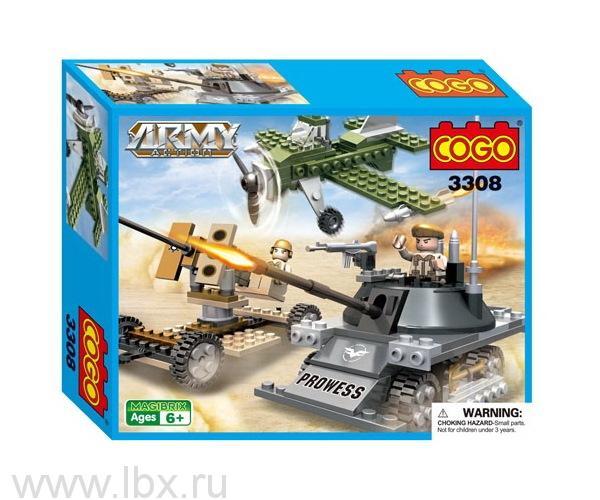 Конструктор `Армия. Атака в пустыне`, Cogo