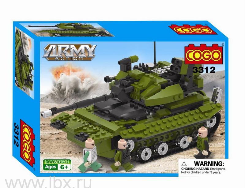 Конструктор `Армия. Танк`, Cogo