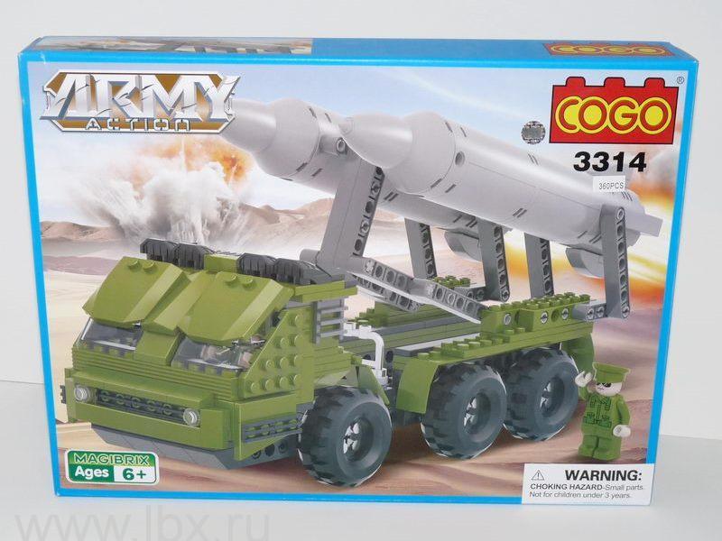Конструктор `Армия. Боевая машина`, Cogo