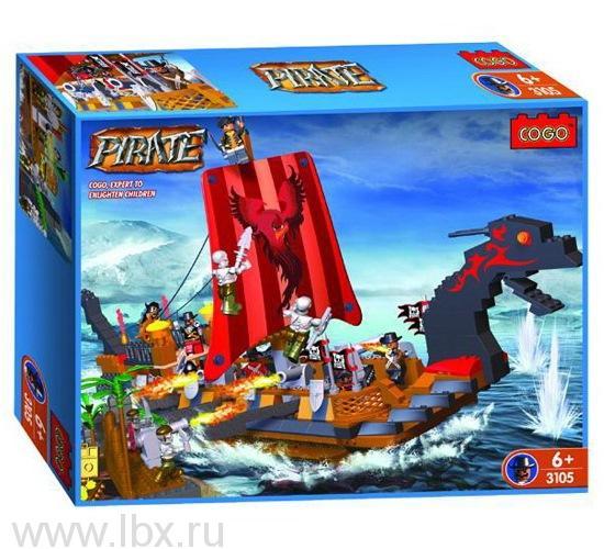 Конструктор `Пираты. Корабль Феникс`, Cogo