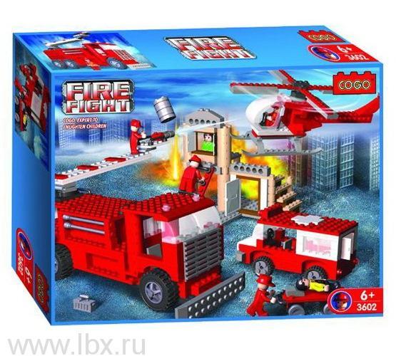 Конструктор `Пожарный. На задании`, Cogo
