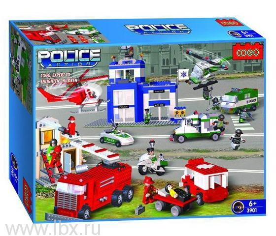 Конструктор `Полиция. Спасатели`, Cogo