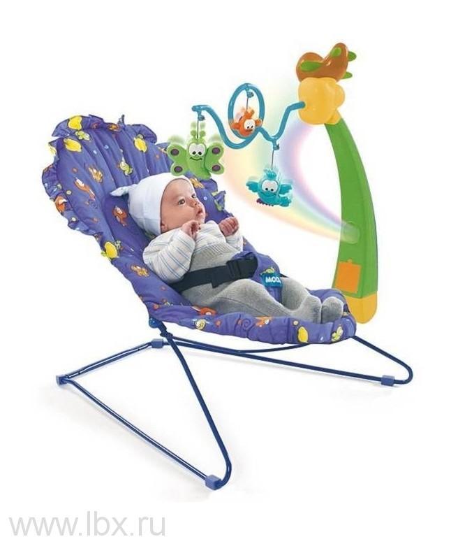 Кресло-качалка с мобилем и пультом, Molto (Молто)